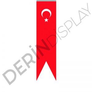 150x600 cm Kırlangıç Bayrak