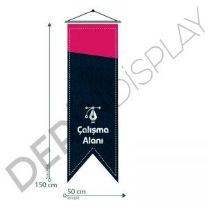 50x150 cm Kırlangıç Bayrak