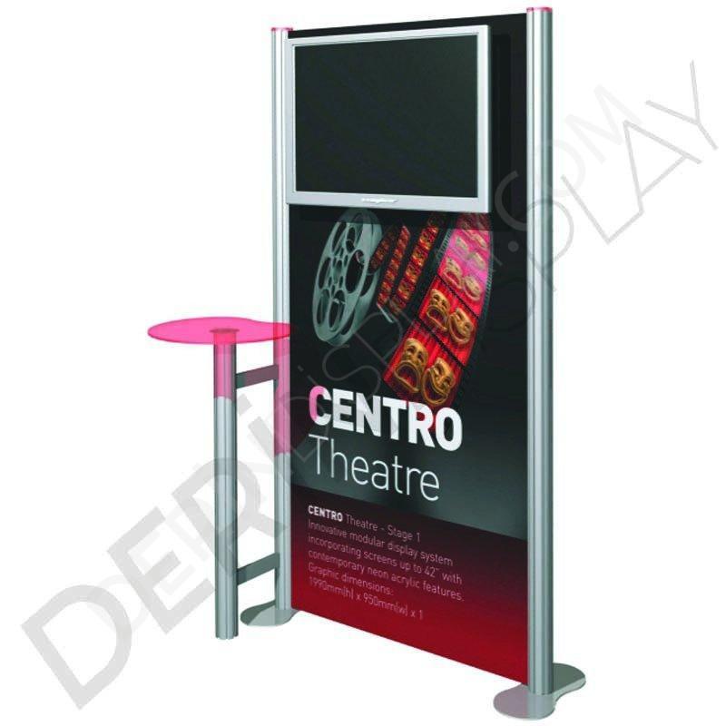 CENTRO TV STAND 1 PANEL
