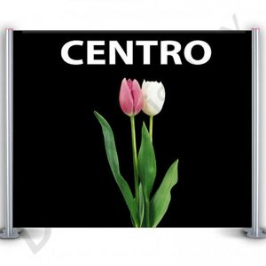 CENTRO BANNER STAND 4 PANEL