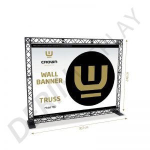 CROWN TRUSS STAND 270x210 CM