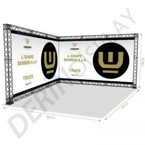 CROWN TRUSS STAND L TİPİ 4x4 M