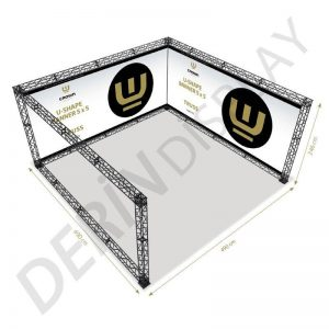 CROWN TRUSS STAND U TİPİ 5x5 M