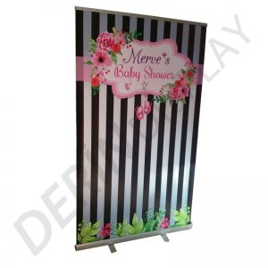 Roll Up Banner 120x200 cm